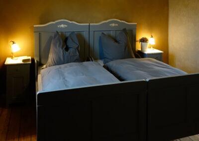 Schlafzimmer im Ferienhaus Gänsetrappe Ballenstedt