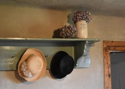Garderobe im Ferienhaus Gänsetrappe Ballenstedt