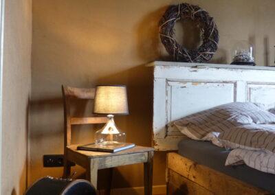 Nachttischlampe Schlafzimmer im Ferienhaus Gänsetrappe Ballenstedt