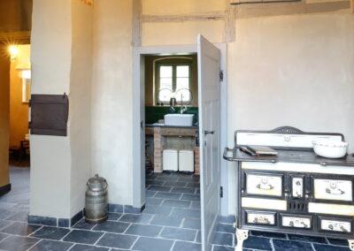 Küche im Ferienhaus Gänsetrappe in Ballenstedt