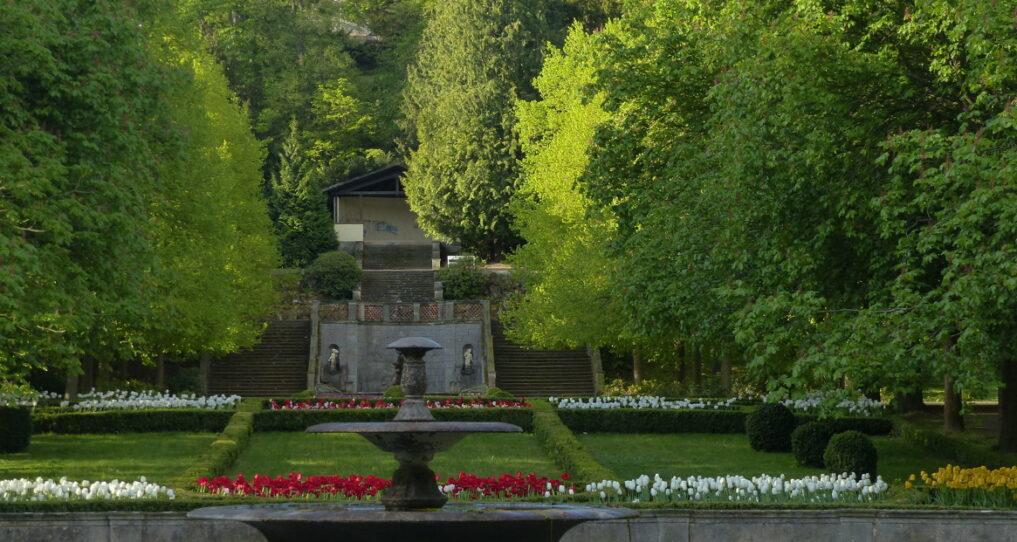 Schlosspark Ballenstedt | Ferienhaus Gänsetrappe