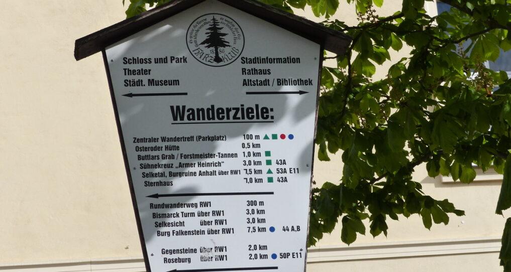 Wanderziel Ballenstedt | Ferienhaus Gänsetrappe